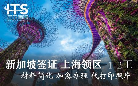 [上海送簽]新加坡簽證個人旅游自由行電子簽加急(1-2工)