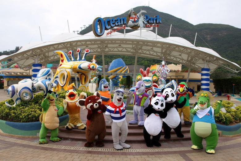 【港澳】香港海洋公園、自由行2天體驗之旅SH02(四星)