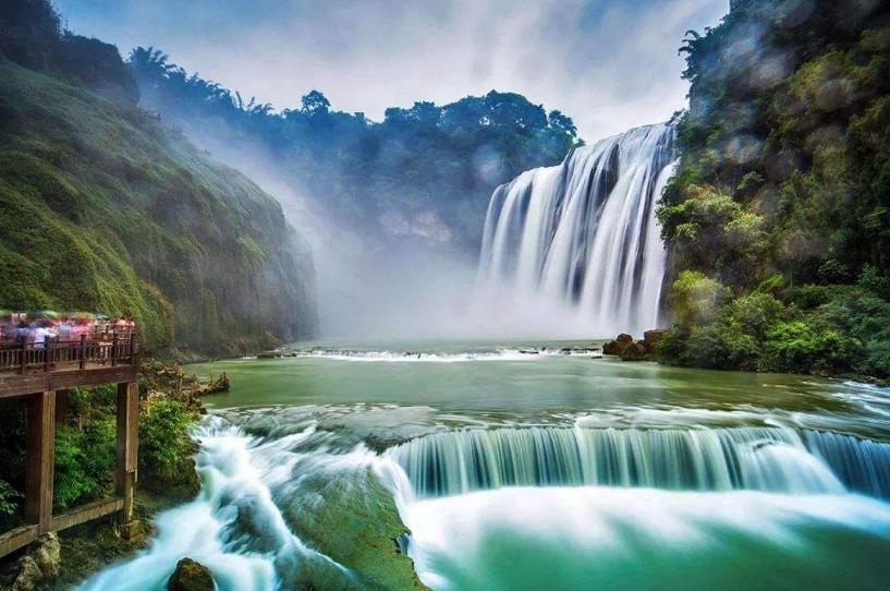 【品质 贵 是一种态度】贵州黄果树瀑布、西江千户苗寨、荔波大小七孔、青岩古镇五天双高铁游