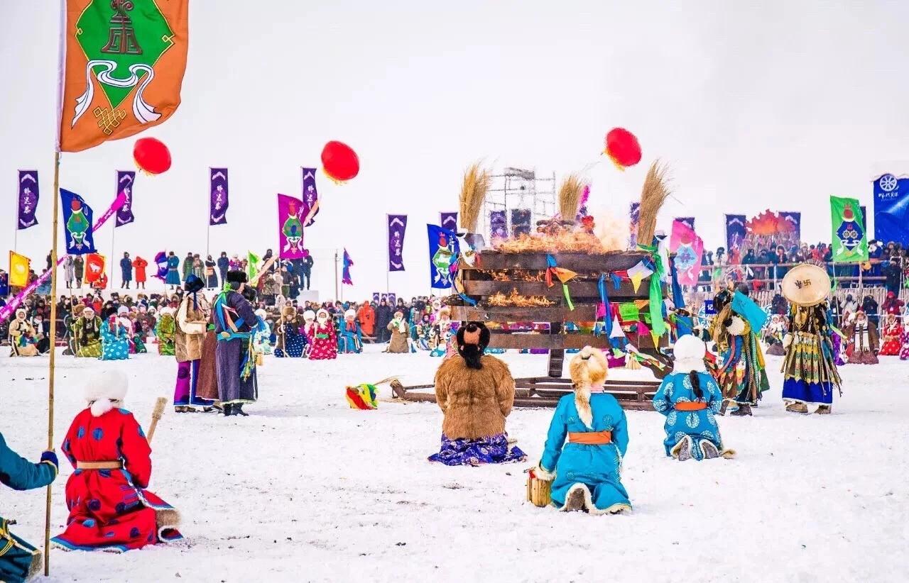 【惠游冰雪那达慕越冷约热情】一年一度冰雪呼伦贝尔那达慕盛会、莫日格勒河、亚洲第一湿地、中科丽丽娅庄园、东山激情滑雪、中俄边城满洲里五天双飞游