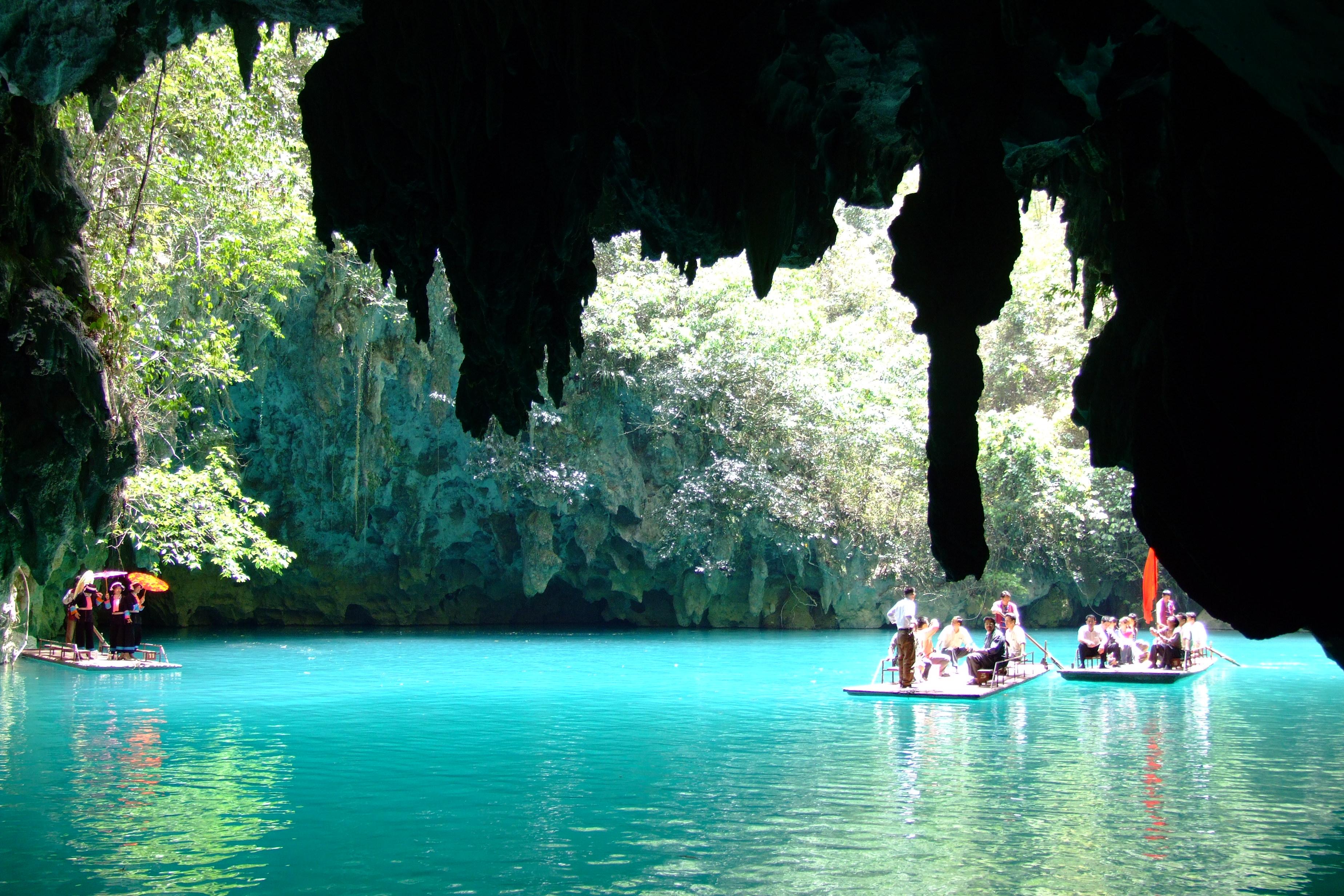 【穿越·瀑屿海】 德天瀑布·通灵峡谷·巴马寿乡·北海·涠洲岛8游